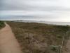 Laufstrecke am Strand