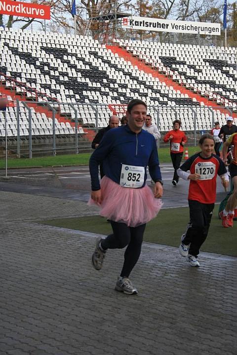Schlossparklauf 2009 - Wettschuld eingelöst!