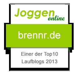 Top10 - Beliebtester Laufblog 2013
