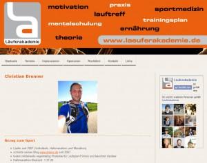 Läuferakademie 2013 - Referent