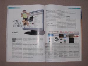 Running Magazin 2009 - eigener Artikel
