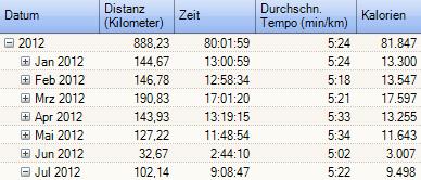 Statistik 2012