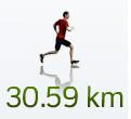 30 Kilometer!