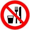 Essen verboten!