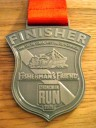 StrongmanRun Finisher-Medaille