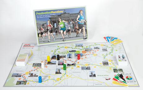 """Gewinn: Das Marathonspiel """"Faszination Marathon"""""""