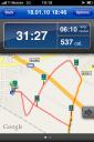 RunKeeper - Karte