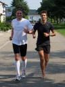 perfekter langer Lauf