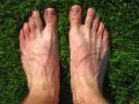 Ohne Schuhe & Socken