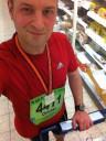 MLP Marathon Mannheim 2011 - danach beim Einkaufen