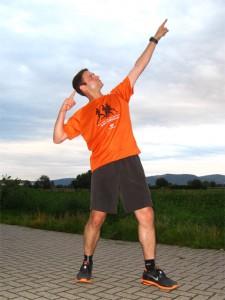 10km-Bestzeit im Training