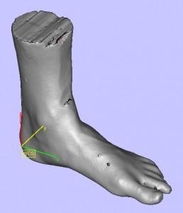 3D-Fußscan