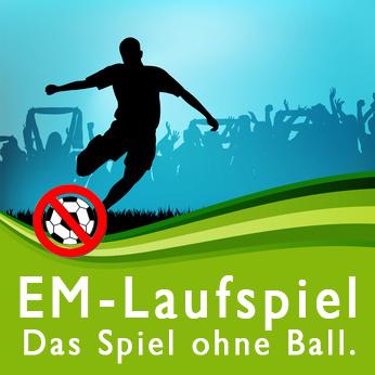 EM-Laufspiel – Das Spiel ohne Ball!
