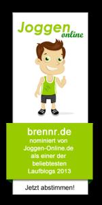 Wahl zum beliebtesten Laufblog 2013