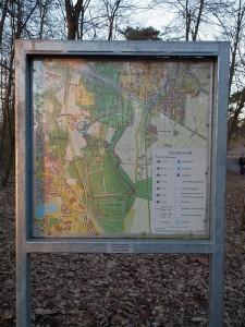 Routen im Dossenwald