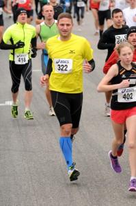 Hockenheimringlauf 2013 - nach 1km noch frisch