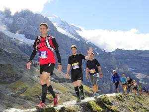 Jungfrau Marathon 2014 - Moräne