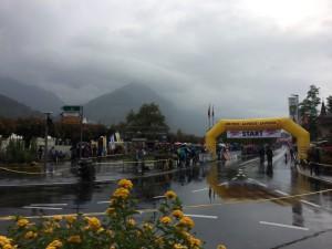 Jungfrau Marathon 2014 - Regen am Tag vor dem Start