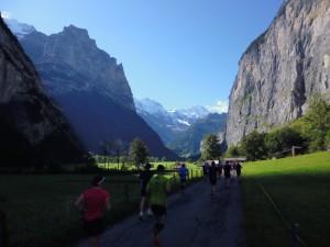 Jungfrau Marathon 2014 - Imposante Felswände