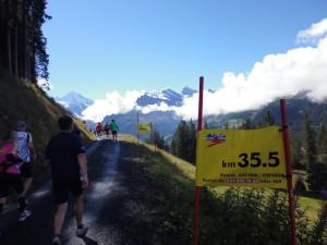 Jungfrau Marathon 2014 - Kilometer 35.5