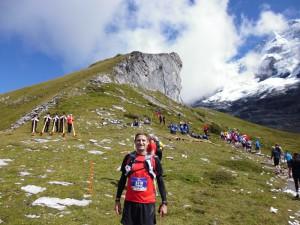 Jungfrau Marathon 2014 - Alphornbläser