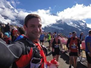 Jungfrau Marathon 2014 - im Ziel