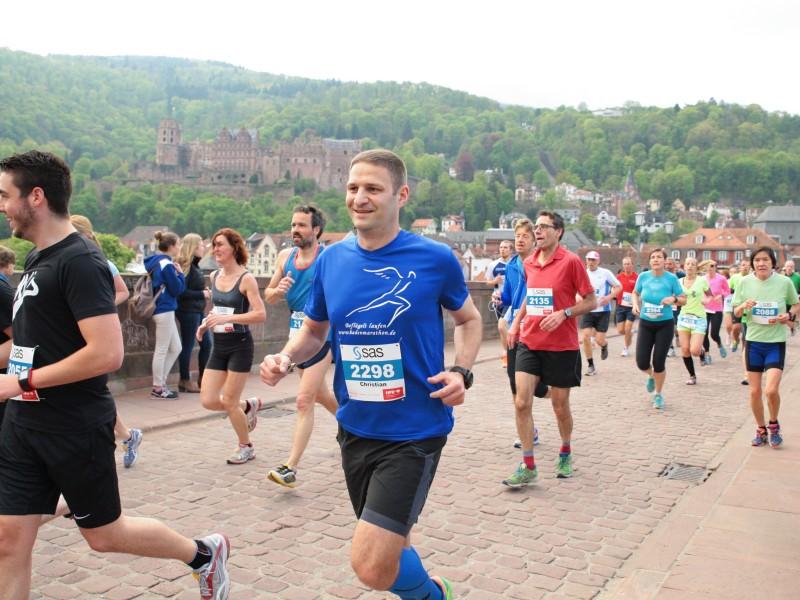 """Bericht """"Heidelberg Halbmarathon 2015"""""""