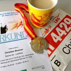 """Bericht """"Halbmarathon Karlsruhe 2015"""""""