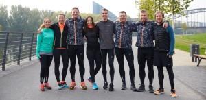 Gruppenbild mit Arne Gabius (Quelle: Nike)