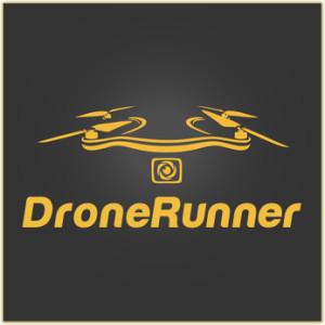DroneRunner DR1 - Drohne für Läufer (basierend auf fotolia.de-Grafik von © radeboj11)
