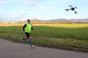 DroneRunner DR1 - Drohne für Läufer