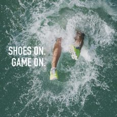 Challenge: Shoes On. Game On.