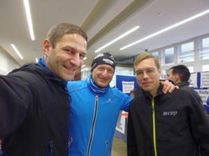 Ruslan, Andy & ich (v.r.n.l.)