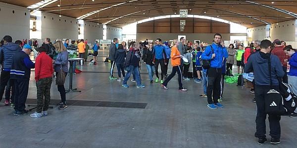 Baden-Marathon 2016 - Messehalle