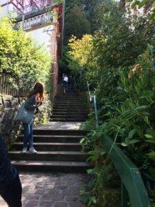 Treppen zum Schloss