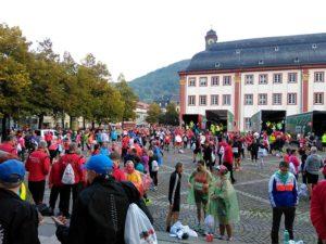 Sparkassen Marathon Heidelberg - Gepäckabgabe