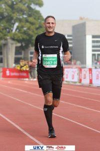 Sparkassen Marathon Heidelberg - Ziel