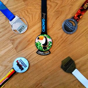 Medaillen 2017