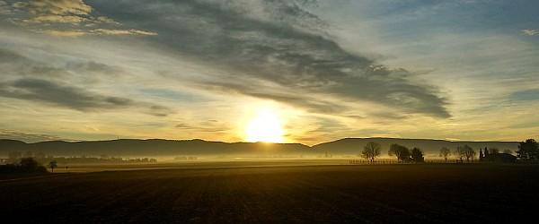 Sonnenaufgang Heidelberg